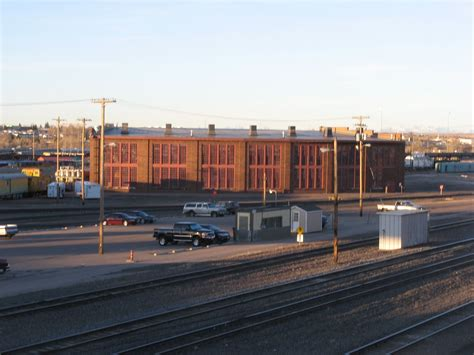 railhead union pacific rail yard and depot cheyenne wyoming