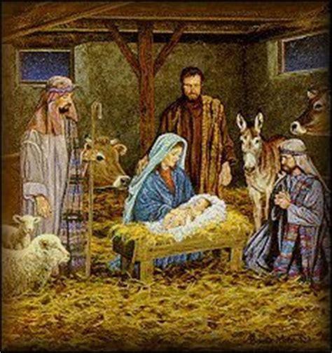 was jesus born in a barn