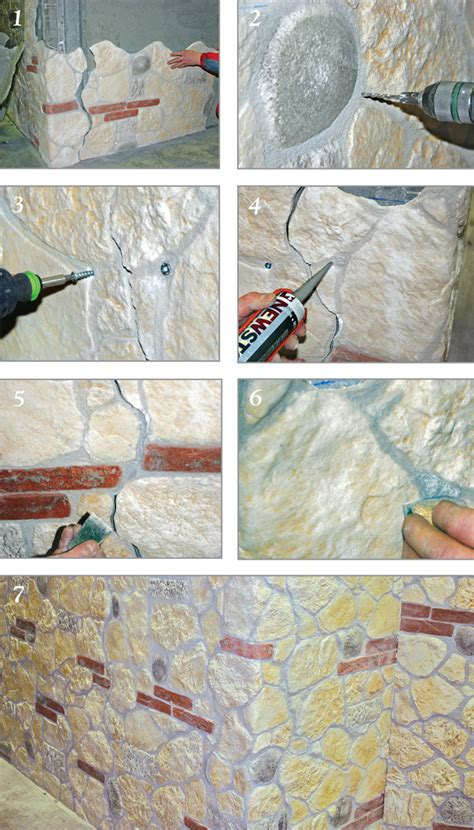 come mettere le piastrelle al muro pannelli finta pietra come sceglierli e come installarli