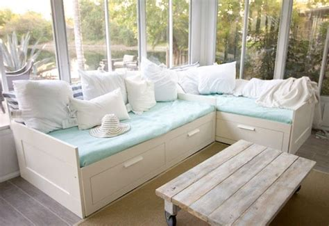 diy ikea hemnes daybed 36 best images about guest room on pinterest fabric
