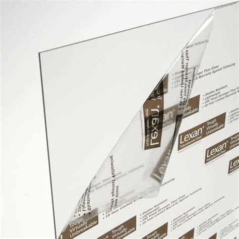 lexan 24 in x 18 in x 0 093 in polycarbonate sheet ge
