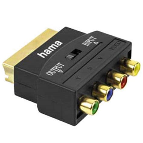 component yuv rgb scart adapter   tvcables