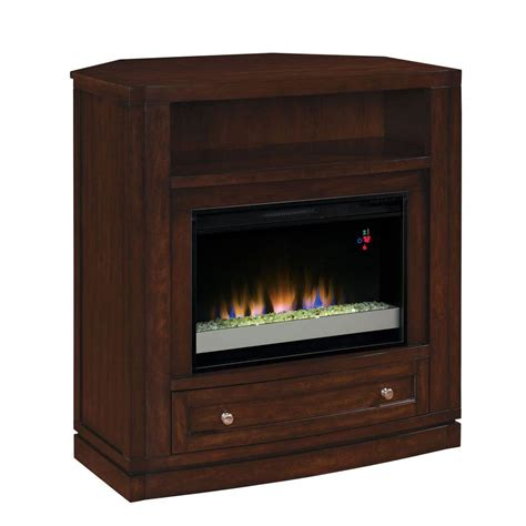 Wesleyan 40 In Convertible Media Console Electric Home Depot Media Fireplace