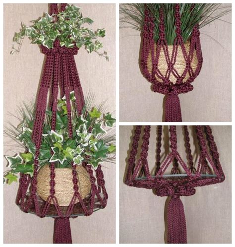 How To Make Plant Hangers Macrame - 25 diy plant hangers with tutorials diy crafts