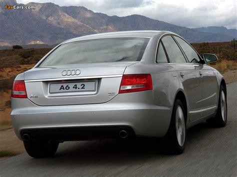Audi A6 4 2 Specs by Audi A6 4 2 Quattro Sedan Za Spec 4f C6 2005 08