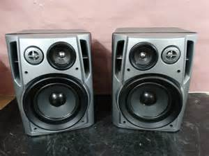 aiwa sx na702 bookshelf speakers excellent set of