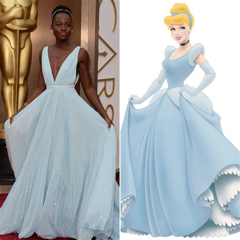 Oscar Frock Horrors Cqs Letters To The by Lupita Nyong O Looks Like Cinderella At Oscars 2014