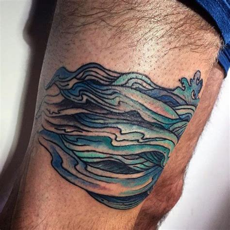 wave tattoos for men 60 wave designs for an of manly ideas