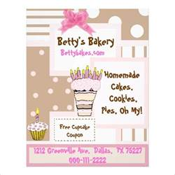Cake Flyer Template Free by 23 Bakery Flyer Templates Psd Vector Eps Jpg