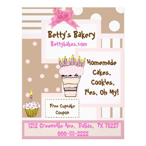 29 Bakery Flyer Templates Psd Vector Eps Jpg Download Freecreatives Bakery Flyer Templates Free