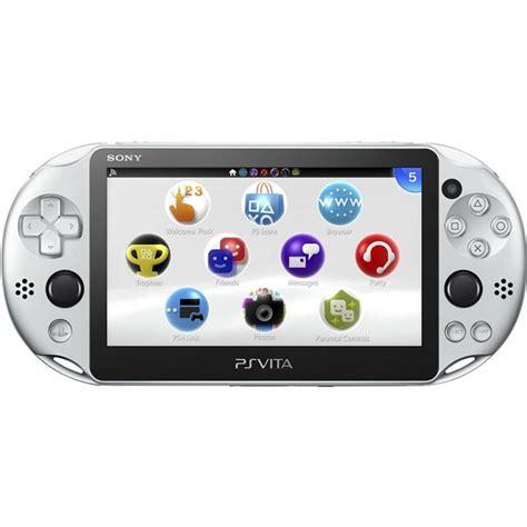 Playstation Vita Slimmmc 64gb Id Psn ps vita playstation vita new slim model pch 2000 silver