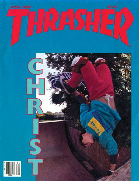 7 80s Pictures From And The City 2 by Thrasher Magazine Cover April 1985 Christian Hosoi