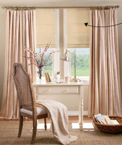 how mary layered roman blinds and curtains in her bedroom layered curtains over roman shades layered looks