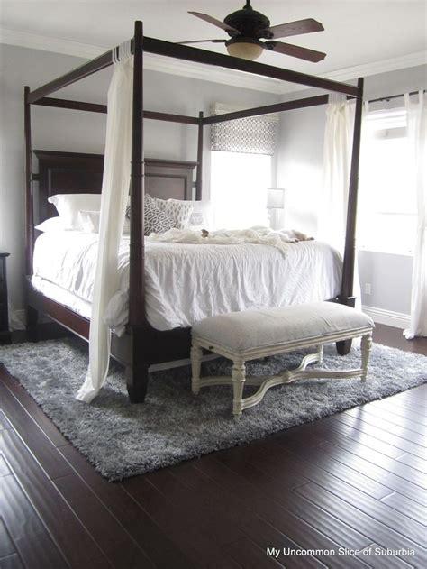 gorge dark wood floors dark wood bed frame dark wood