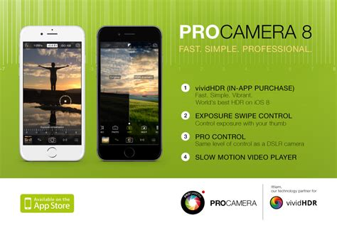 best with manual controls procamera 8 for ios 8 brings the best hdr and manual