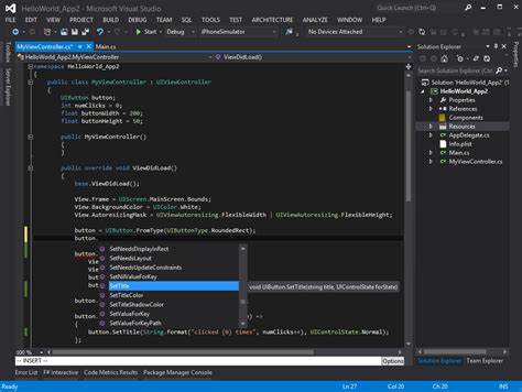 xamarin studio code templates introduction to building xamarin ios applications in