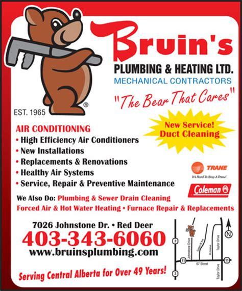Bruins Plumbing bruin s plumbing heating ltd deer ab 7026