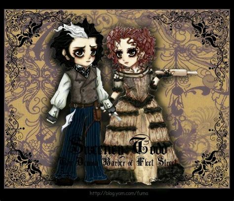 gifts for tim burton fans 70 best sweeny todd images on pinterest