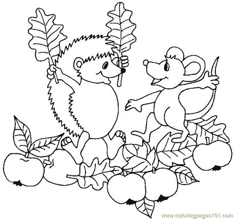 garden creatures coloring pages coloring pages hedgehog apple garden animals gt hedgehogs