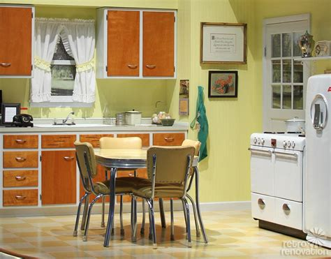yellow vintage kitchen 1946 merillat kitchen on display at 2014 kitchen and bath