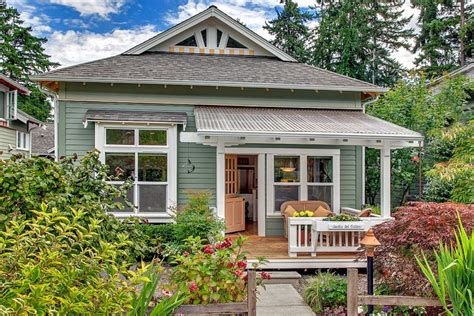 Art House Design Small And Cozy | craftsman designed small cottage with cozy courtyard
