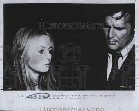 trudy cbell actress jamaica actress trudy young and actor john vernon in winter comes
