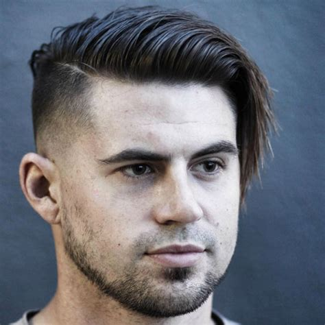 nice hairstyles for a triangular face shaped man best hairstyles for men with round faces