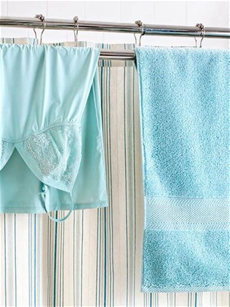 shower curtain rod with towel bar easy organizing