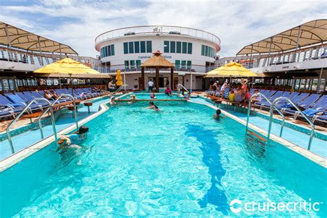 Dining Room Bar by Pool On Carnival Sensation Cruise Ship Cruise Critic
