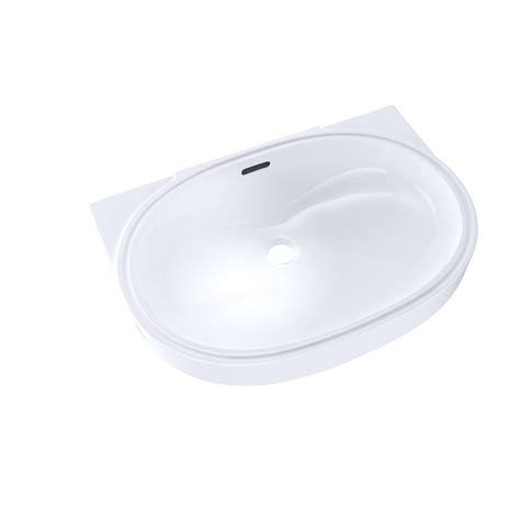 toto undermount bathroom sink toto 20 in oval undermount bathroom sink with cefiontect