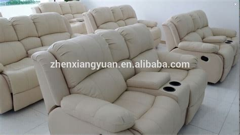 leather sofa recliner sofa with cup holder buy