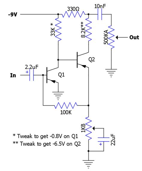 germanium transistor fuzz effects gt fuzz revisited diy fever building my own guitars s and pedals