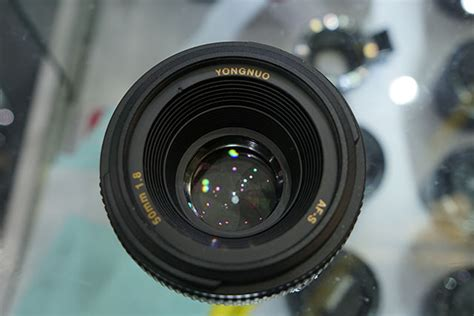 Yongnuo 50mm this is the upcoming yongnuo 50mm f 1 8 for nikon