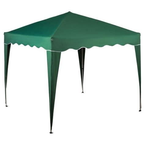 gazebo tesco buy tesco polyethylene metal waterproof gazebo green