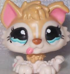 lps puppies littlest pet shop husky puppy 1013 pink baby blue great