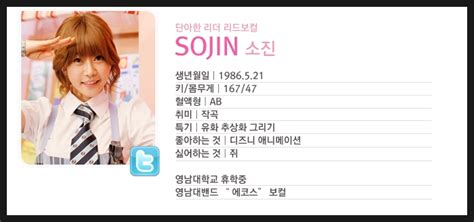 girls day sojin profile member profile 110317 girl s day twinkle twinkle updated