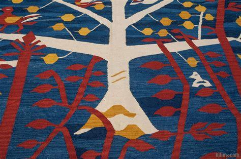blue kilim rug k0010792 blue new turkish kilim rug