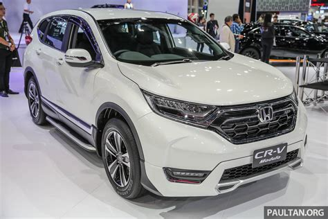honda modulo bangkok 2017 honda cr v with modulo accessories