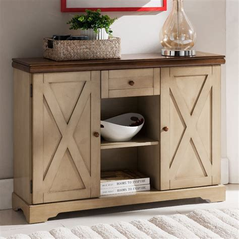 Console Table Sideboard Cabinet Storage Dining Black