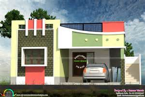 Home Design For Small Homes by Small Tamilnadu Style Home Design Kerala Home Design And
