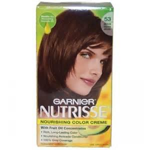 nutrisse hair color garnier nutrisse permanent creme haircolor 53 medium