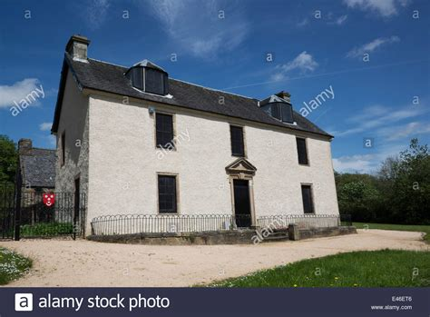 buying a house in glasgow blochairn house one of the oldest houses in glasgow and thought to stock photo
