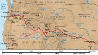 The Oregon Trail Map by 1000 Images About Gold Rush Days On Pinterest Gold Rush
