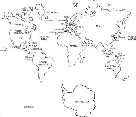 printable world map with country names black and white black and white labeled world map printable geography