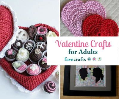 valentines craft ideas for adults 40 crafts for adults favecrafts