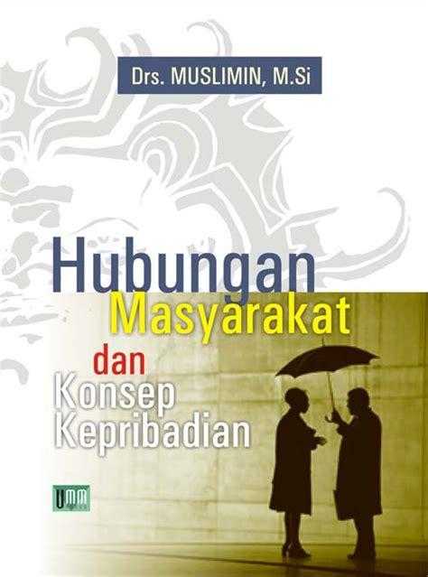 format buku hubungan masyarakat humbungan masyrakat dan konsep kepribadian umm press