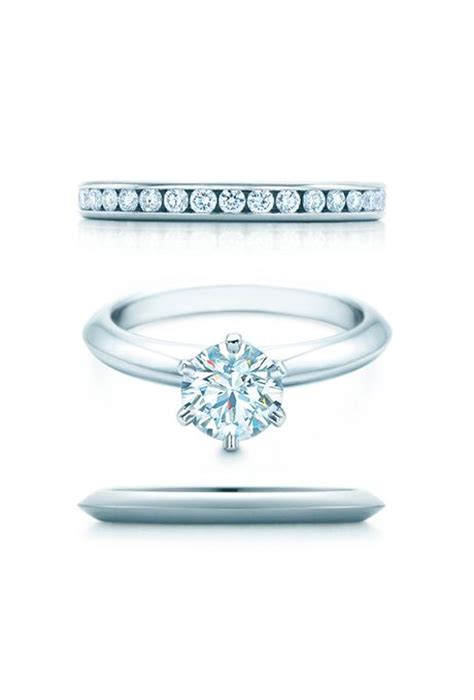 wedding ring and co engagement rings and wedding band pairings