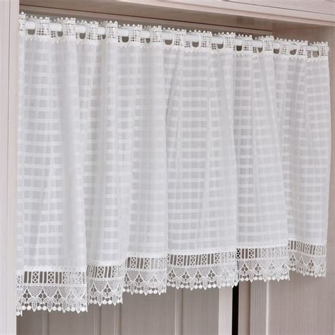 White Kitchen Curtains White Eyelet Curtains Home Design Ideas And Pictures Kitchen Best 25 Ready Made On