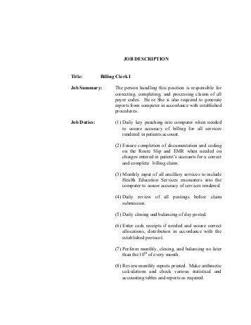 Billing Clerk Description by Utility Billing Clerk Description Of Waynesville Ohio