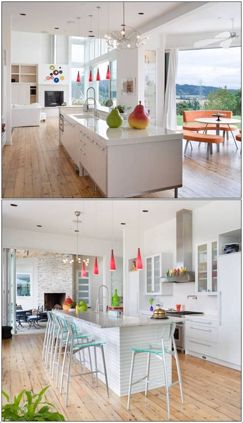 Home Interior Design Outlook Easy Interiors Accented With Pops Of Colors House